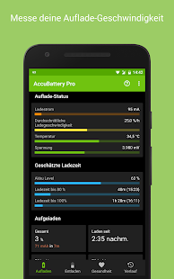 Accu​Battery - Akku & Batterie Screenshot