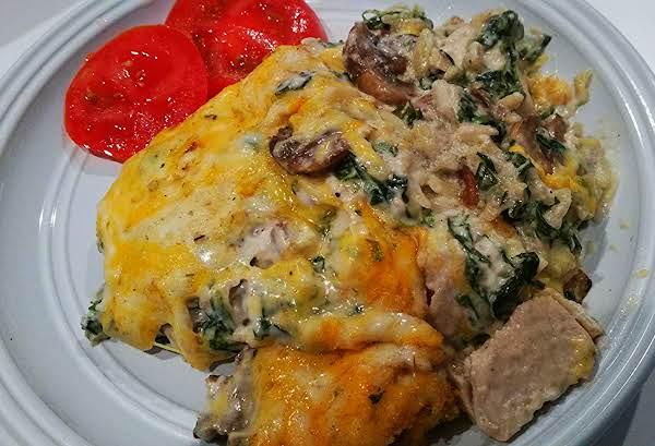 ~ Savory Chicken & Spinach Casserole ~ Recipe