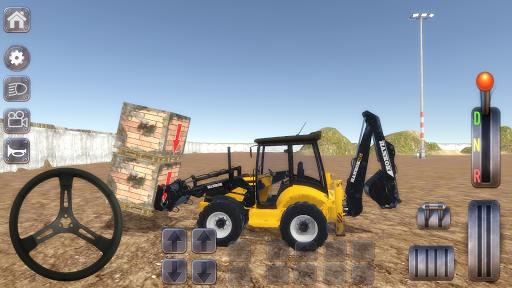 Excavator Simulator Backhoe Loader Dozer Game 1.5 screenshots 1