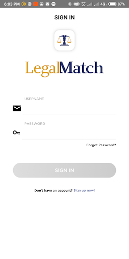 Screenshot for LegalMatch in United States Play Store