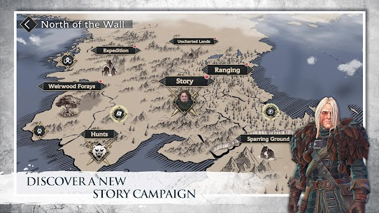 Game of Thrones Beyond the Wall Apk Mod +OBB/Data with [Unlimited Resources] 4