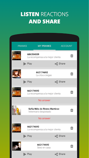 Prank Calls & Dials ? By Prankyapp 1.20 screenshots 5