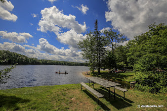 Photo: From day use you see a canoer at Woodford State Park by bob Ricketson