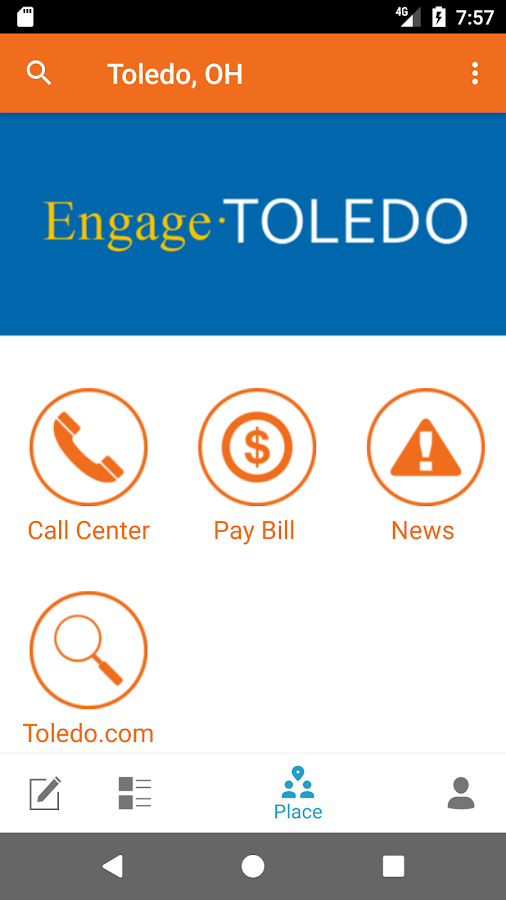 Engage Toledo- screenshot