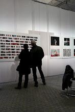 Photo: FRENCH ART DAY 2012 exhibition still at Øksnehallen, in Copenhagen, january 2012.  PHOTO-BOOK M&M layout, © photography & design by jean-marie babonneau http://www.betterworldinc.org  snap-shot photo by Kathrine Thorbjørg.
