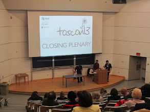 Photo: Day 2 - Luke Meddings & Lindsay Clandfield closing plenary