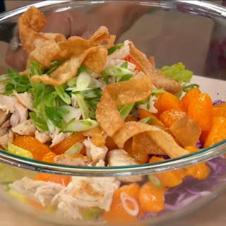 Katie Chin's Recipe For Chinese Chicken Salad With Mandarin Oranges.