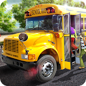School Bus 16 Android APK Download Free By Fun Blocky Games