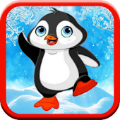 Penguin Throw Game:Kids -FREE!