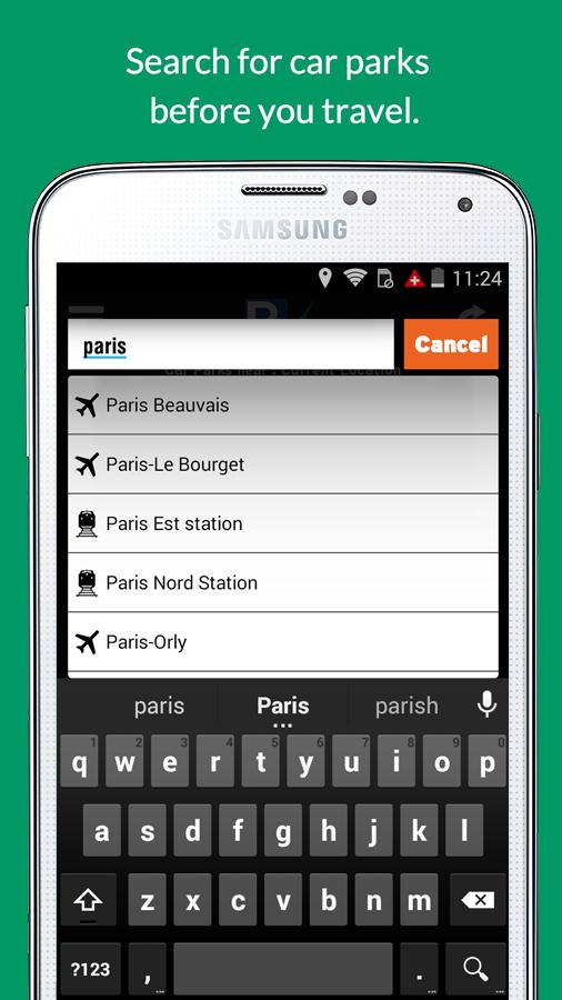 ParkVia- screenshot