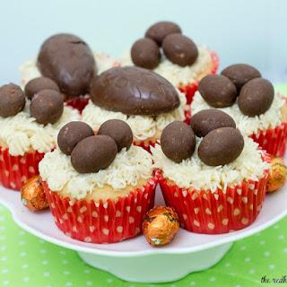 Easter Basket Cupcakes #EggcellentTreats Recipe