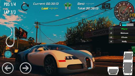 Real Bugatti Veyron Racing 2018 1.0 2