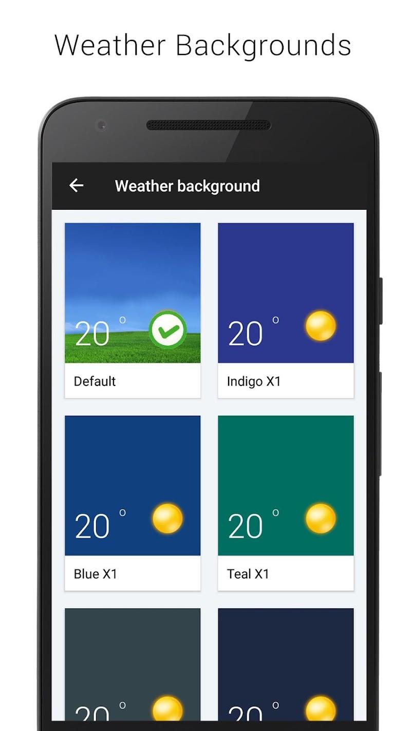 Sense V2 Flip Clock & Weather Screenshot 15