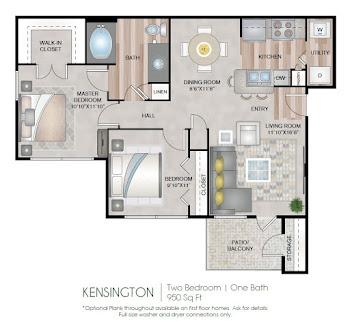 Go to Kensington Floorplan page.