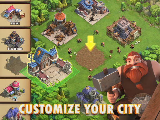 Blaze of Battle 3.2.2 APK MOD screenshots 2