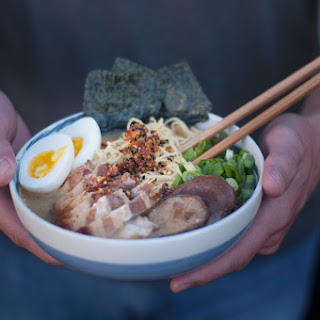 Ramen with Garlic Togarashi Recipe