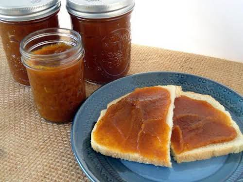 "Perfect Pumpkin Butter ""Apple butter was a childhood favorite of mine, so..."