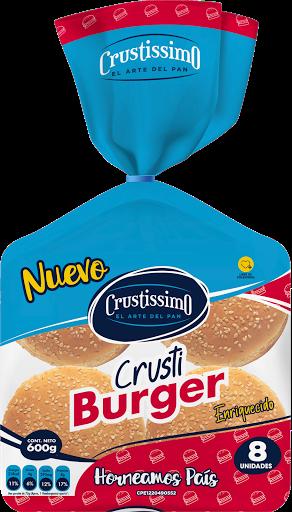 Pan Crusti Burger  Crustissimo