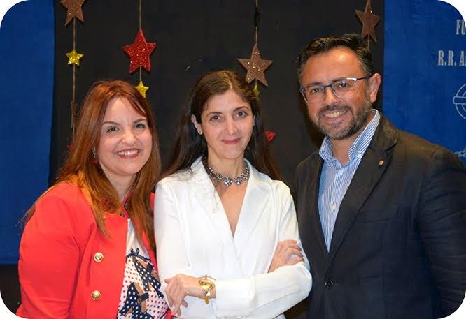 Espido Freire en Adoratrices Cartagena