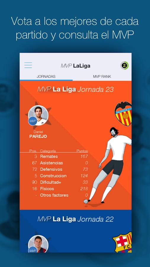 LaLiga Stats Oficial BBVA- screenshot