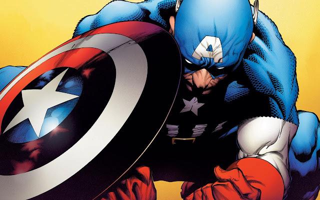 Captain America Comics Tab