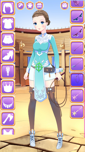 Anime Fantasy Dress Up - RPG Avatar Maker  screenshots 5