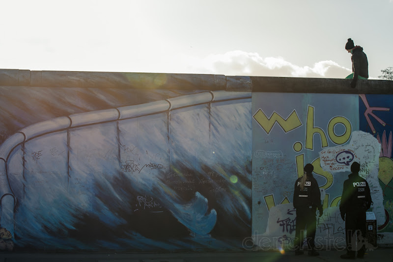 """Photo: The who is who of the East Side Gallery – """"Who is Who"""", Ⓒ Berlin 2013"""