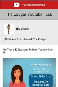 Cougar Dating Chat
