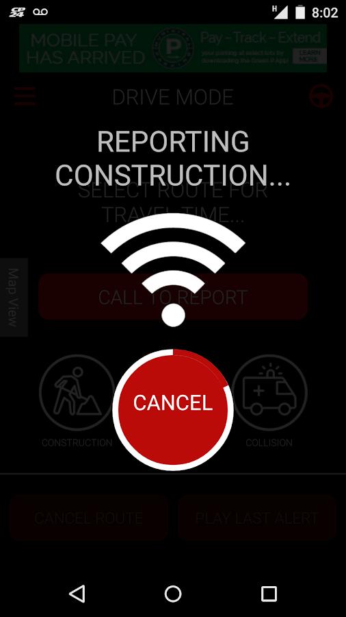 CP24 Traffic Alert- screenshot
