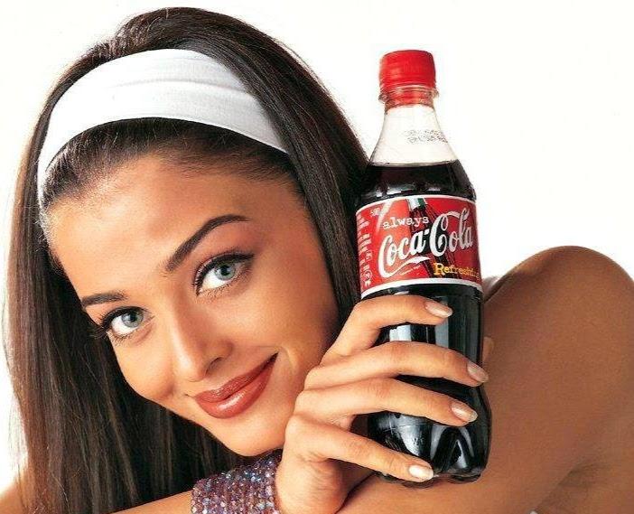 Aishwarya Rai Coca cola ad