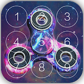 Fidget Spinner lock screen New