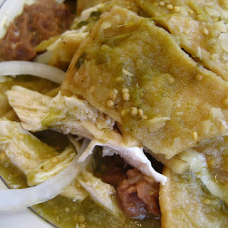 Chicken Chilaquiles With Salsa Verde