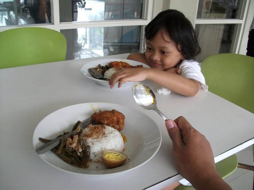 So Indonesian menu on Rumah Cassa (free breakfast)