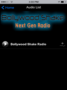 Bollywood Shake Radio- screenshot thumbnail