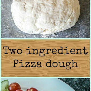 Two Ingredient Pizza Dough.