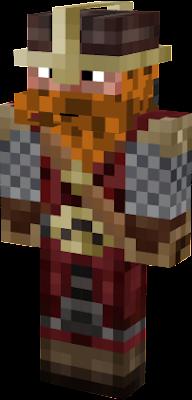 Wikinger Nova Skin - Minecraft wikinger hauser