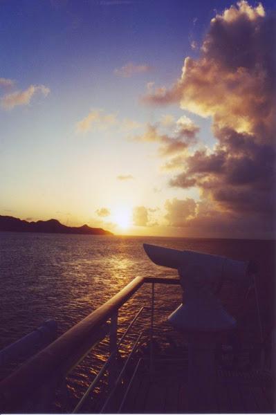 Photo: #031-Coucher de soleil sur le Club Med 1