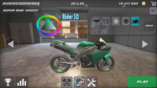 Wheelie Rider 3D - Traffic rider wheelies rider 1.0 screenshots 1