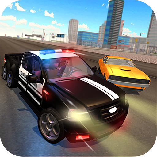 6x6 Police Truck Vegas City Gangster Chase