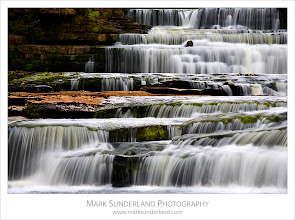 Photo: #WaterfallWednesday   Lower Aysgarth Falls  Here's a shot of the Lower Falls at Aysgarth for #WaterfallWednesday curated by +Eric Leslie. I'm guessing it doesn't look quite like this at the moment with all the recent rain, but maybe later in the summer the River Ure will be a bit gentler again, revealing this staircase of cascades.  Canon EOS 5D,EF70-200mm f/4L USM at 180mm, ISO 50, 0.6s at f32