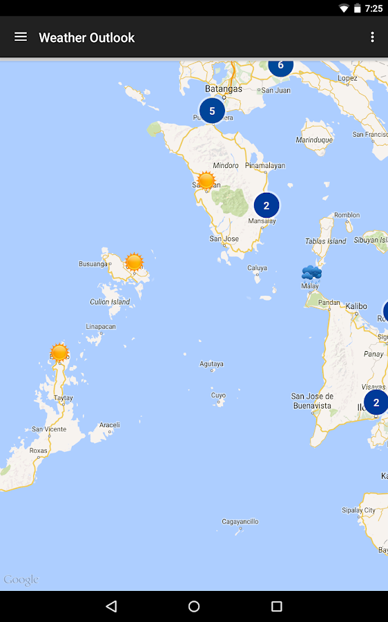 PH Weather And Earthquakes- screenshot