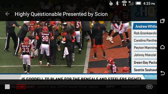 ESPN Screenshot 5