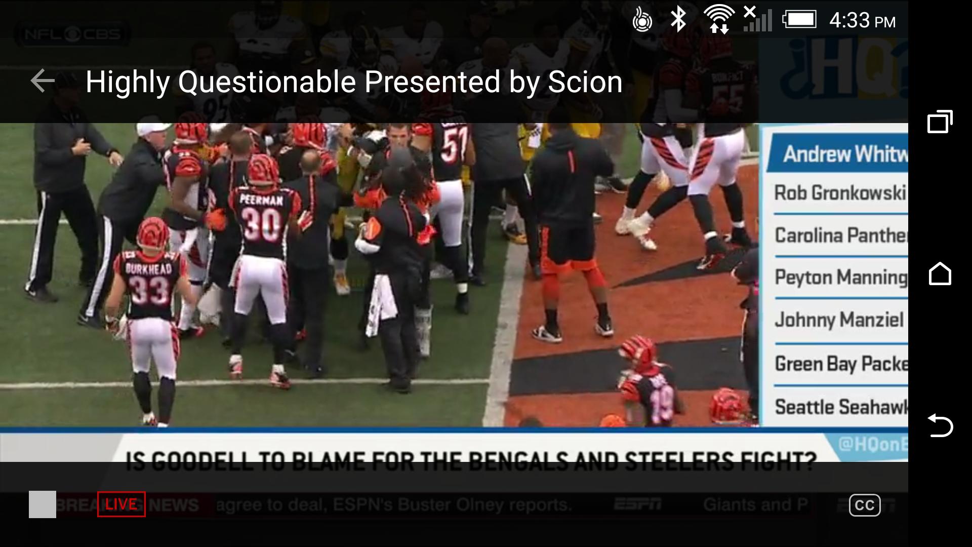 ESPN screenshot #5