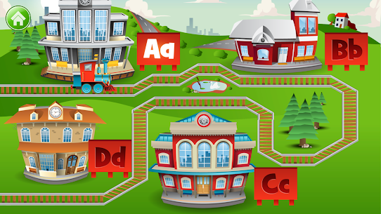 Learn Letter Names and Sounds with ABC Trains 8