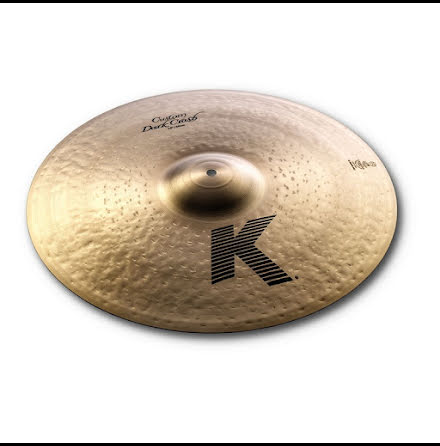 "19"" Zildjian K Custom - Dark Crash"