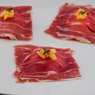 Proscuitto & Melon Ravioli