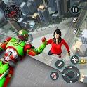 Flying Robot Rescue Hero: Superhero Rescue Mission icon