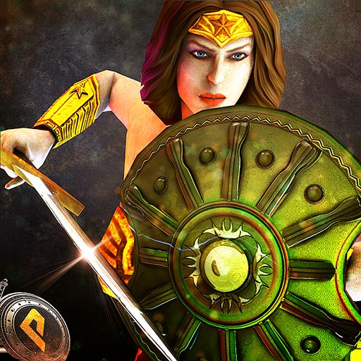 Wonder Warrior Fighting Woman