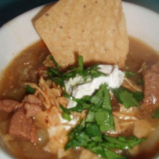 Beef Green Chile Stew.