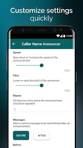 Caller Name Announcer – Hands-free calling app  Download For Android 4